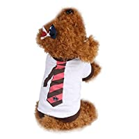 Elevin(TM) Summer Pet Puppy Dog Cat Pet Apparel Clothes Vest T Shirt