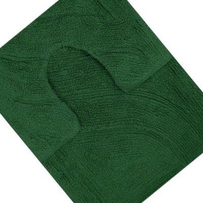Tappetino bagno tappetino sanitari 100 cotone verde - Tappetini per il bagno ...