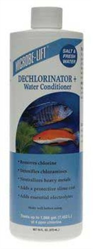 Microbe-Lift 16-Ounce Dechlorinator + Water Conditioner Removes Chlorine