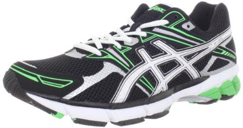 ASICS Men's GT-1000 Running Shoe,Black/White/Electric Apple,8.5 D US ASICS Running autotags B007K6G8AS