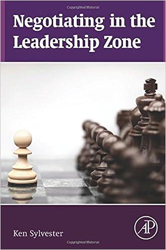 Negotiating in the Leadership Zone