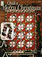 Quilt a Merry Christmas (141063) by Sandra…