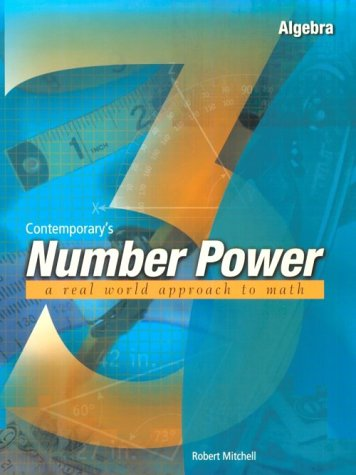 Contemporary's Number Power 3 : Algebra A Real World...