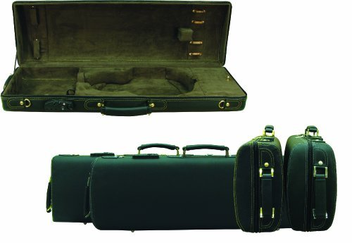 evergreen-deluxe-violin-case-4-4-black-leather-exterior-with-brown-plush-interior