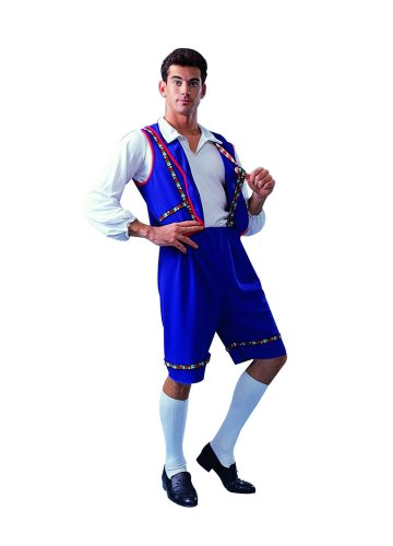 Adult Blue Bavarian Man Costume