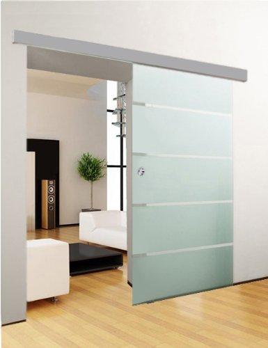 glasschiebet r schiebet r glast r 5 streifendesign. Black Bedroom Furniture Sets. Home Design Ideas