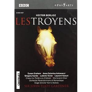 Berlioz - Les Troyens / Graham, Antonacci, Kunde, Tezier, Naouri, Pokupic, Gardiner, Chatelet Opera