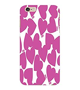 ColourCraft Loving Hearts Design Back Case Cover for APPLE IPHONE 6S PLUS
