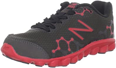 New Balance Kid's K3090 IONIX Running Shoe (Little Kid/Big Kid), Black/Red, 4.5 M US Big Kid