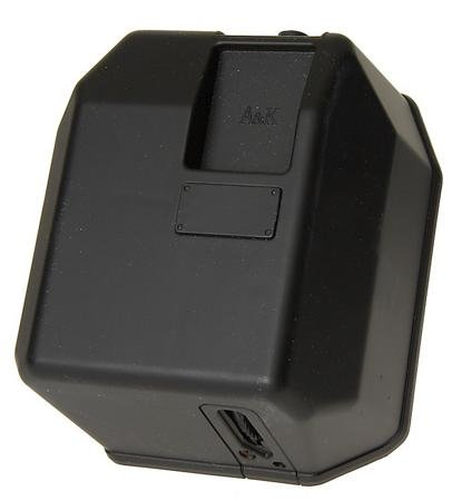 M-Series Box Electric Airsoft Magazine - 5000 Round - Black