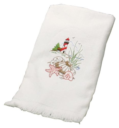 Dimensions Needlecrafts Embroidery, Lighthouse Guest Towels front-878182
