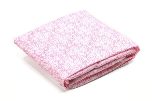 Bloom Alma Papa Fitted Sheet, Lollipop Rosy Pink - 1