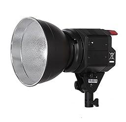 ILED-H 50WA Daylight LED Portable Studio Light with Bowens S-Type Mount and DC2.5 Jack