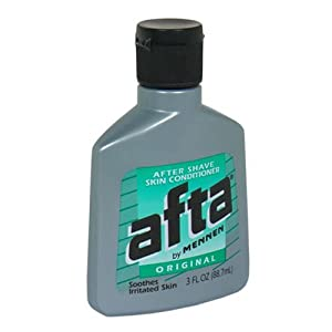 Mennen Afta after shave skin conditioner original 3 FL OZ (PACK OF 2)