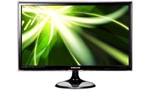Samsung T27A550 68,8 cm (27 Zoll) Wide Screen LED-Monitor, Energieeffizienzklasse B (HDTV-Tuner, HDMI, Scart, VGA, S-Video, 5ms Reaktionszeit) rose schwarz