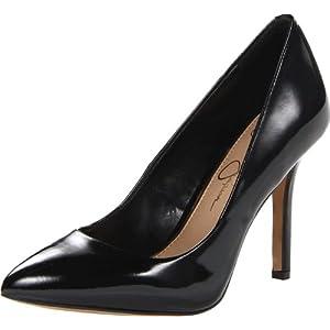 Jessica Simpson Women's JS-Adeni Dress Pump,Black Patent,8 M US