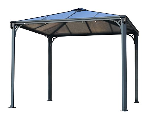 palram pavillons 39 palermo gazebo 3000 39 295 x 295 x 276 cm aluminium neu ovp. Black Bedroom Furniture Sets. Home Design Ideas
