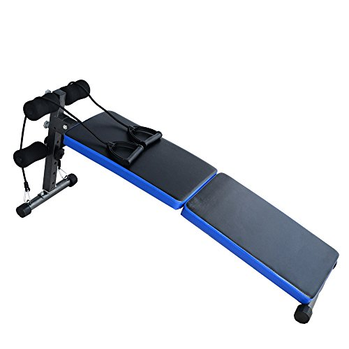 Tenive Pro Adjustable Decline Folding Ab Bench Sit Up Board