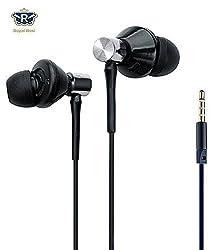 Royal Rusi - Ubon High Bass Earphone compatible with LENOVO VIBE K5 PLUS with Mic