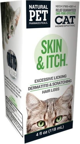 Natural Pet Skin Itch Irritation Relief For Cats