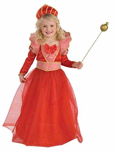 Child Ruby Queen Costume Size:Toddler