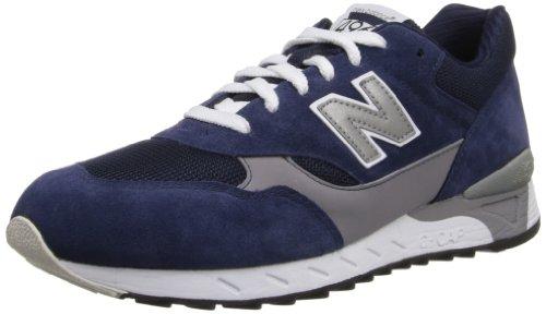 New Balance Men'S Cm496 Running Shoe,Navy/Grey,15 D Us