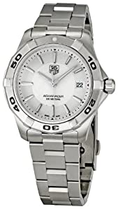 Tag Heuer Men's Aquaracer Dial Watch Silver WAP1111.BA0831