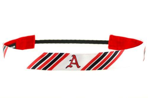 One Up Bands Women's NCAA University of Arkansas Stripes цена и фото