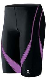 TYR Men\'s Alliance Splice Jammer Swimsuit (SALI) - Black/Purple - 32