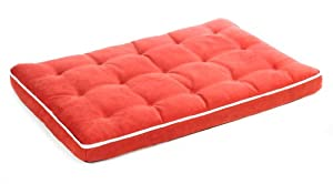 "Bowsers Luxury Dog Crate Mattress, Watermelon, SML 17""x23""x3"" by Bowsers"