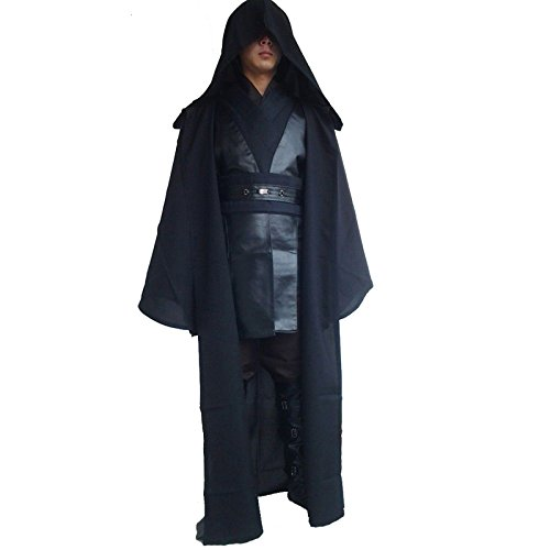 Ladream Men's Clothes Star Wars Darth Vader Anakin Skywalker Cosplay