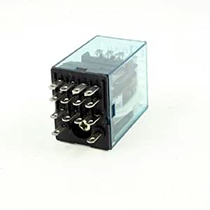 HH54P DC 12V Coil 4PDT 14-Pin 14P Electromagnetic Power Relay