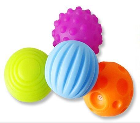 set-of-4-textured-multi-ball-set-multi-sensory-balls-gift-colorful