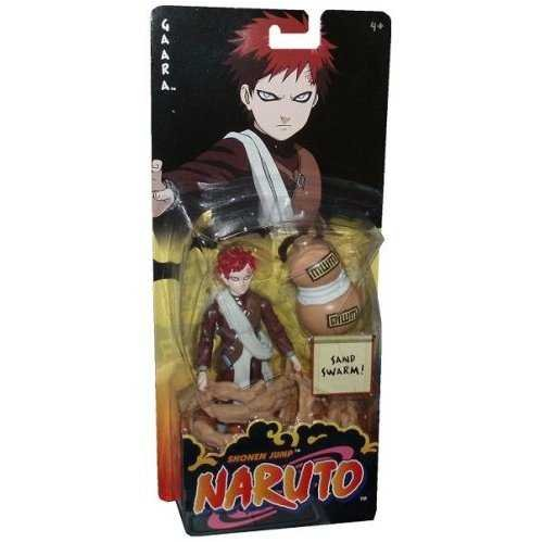 Picture of Mattel Naruto Basic- Gaara - Sand Swarm Figure (B00144UYLQ) (Naruto Action Figures)