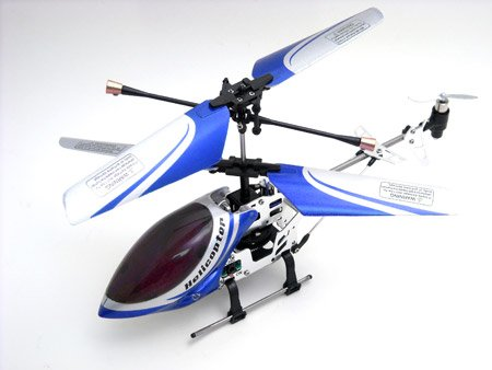 Falcon X mini indoor 3 Channel Co-Axial RC Helicopter with Gyro