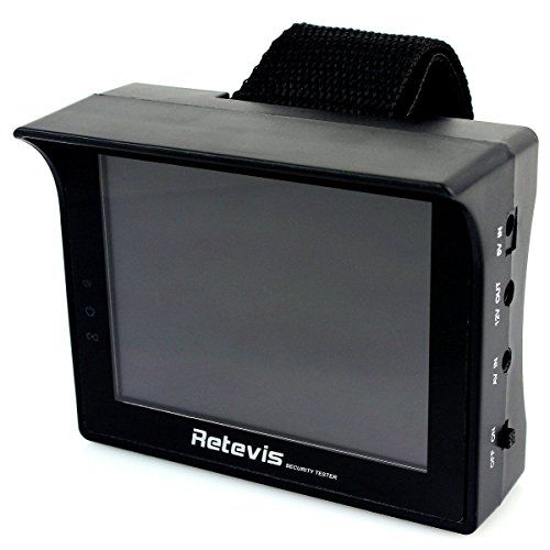 "Retevis Rt-3501 Portable 3.5"" Tft Lcd Multifunction Security Tester Wristband Surveillance Monitor Cctv Camera Color"