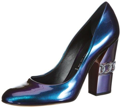 Casadei 3524L159 Sandals Womens Blue Blau (Saturno) Size: 2 (36 EU)