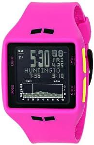 Vestal Men's BRG023 Brig Tide & Train Digital Display Japanese Quartz Purple Watch