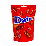One Bag of Marabou DAIM Swedish Milk Chocolate Pralines Chocolates Candy Sweets by Kraft Foods