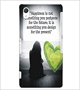 PRINTSWAG LOVE QUOTE Designer Back Cover Case for SONY XPERIA Z2