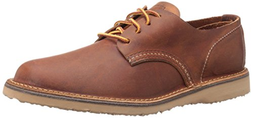 Red Wing Heritage Men's Weekender Oxford, Copper Rough/Tough, 11 D US (Red Wings Shoes compare prices)