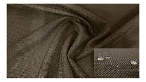 Fabrics catena di colore verde oliva Tessuto Effetto 3d cavo impermeabile a City dklbraun camicia plastica, 3674