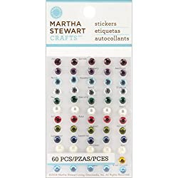 Martha Stewart Crafts Stickers, Dimensional Birthstone Gems