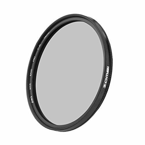 ZOMEi® Ultra Slim AGC Glass optique PRO Filtre CPL Photographie filtres polarisants circulaires pour Sony Canon Nikon Pentax-58mm