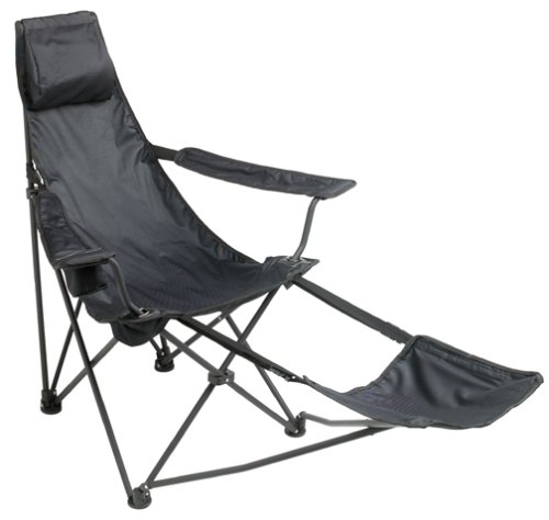 Best Mac Sports Black Cannon Beach Deluxe Folding Chair