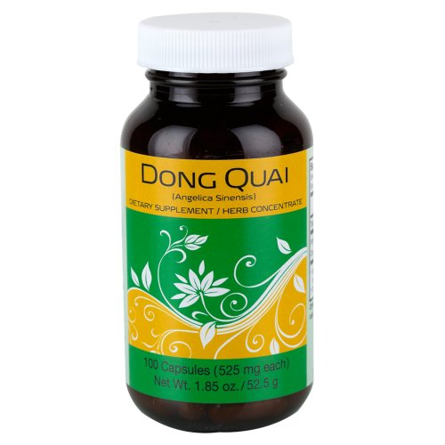 Dong Quai, 100 Capsules/Bottle
