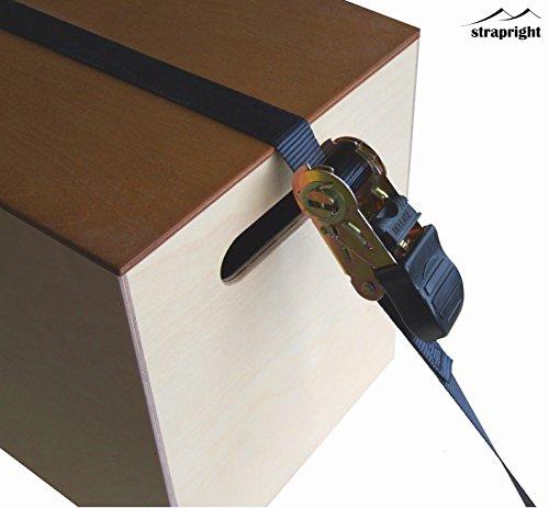 ratchet tie down straps instructions