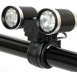 自転車の 自転車 ライト led 充電 : 強力LED 充電式 自転車ライト ...