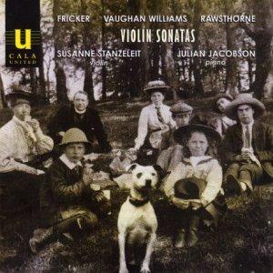 Fricker; Rawsthorne; Vaughan Williams: Violin Sonatas