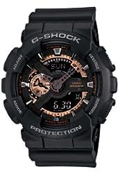 Casio Men's GA110RG-1A G-Shock Black Watch